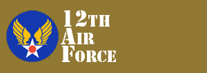 12th Air Force Website Logo